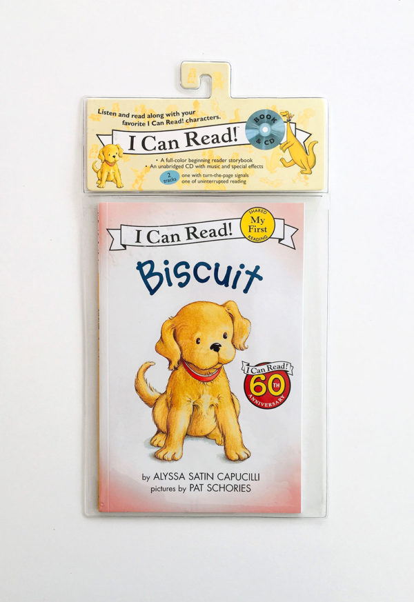 I CAN READ - MY FIRST READING: BISCUIT (+CD)