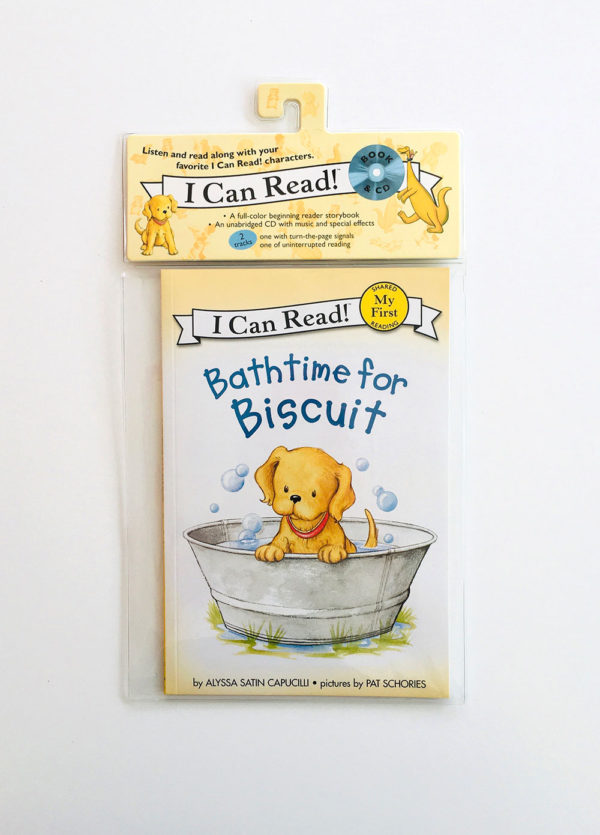 I CAN READ - MY FIRST READING: BATHTIME FOR BISCUIT (+CD)