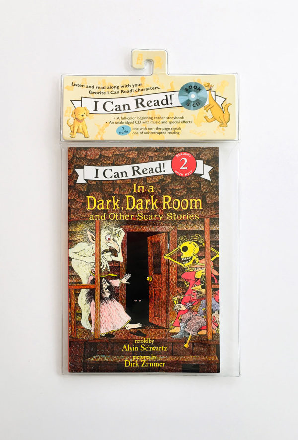 I CAN READ #2: IN A DARK, DARK ROOM AND OTHER SCARY STORIES (+CD)