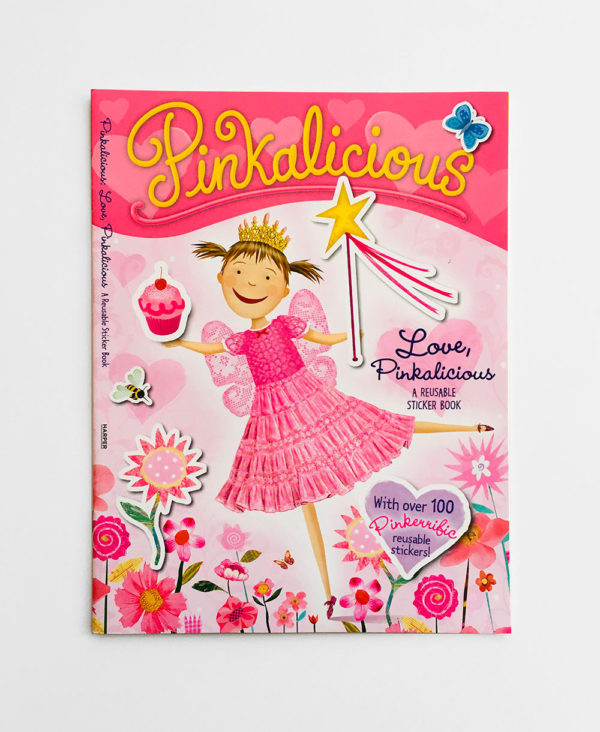 LOVE, PINKALICIOUS STICKER BOOK