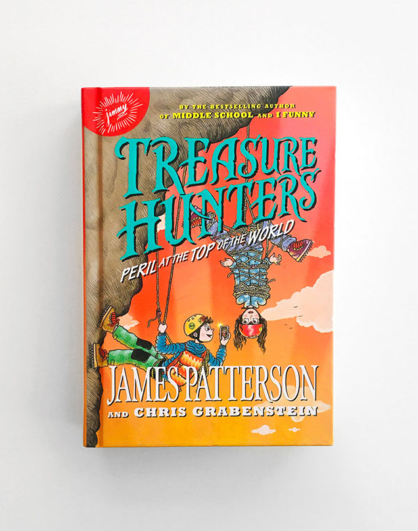 TREASURE HUNTERS: PERIL AT THE TOP OF THE WORLD (#4)