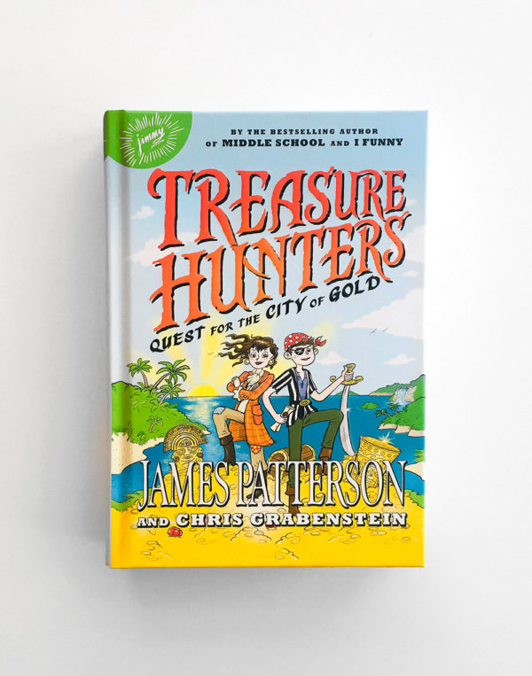 TREASURE HUNTERS: QUEST FOR THE CITY OF GOLD (#5)