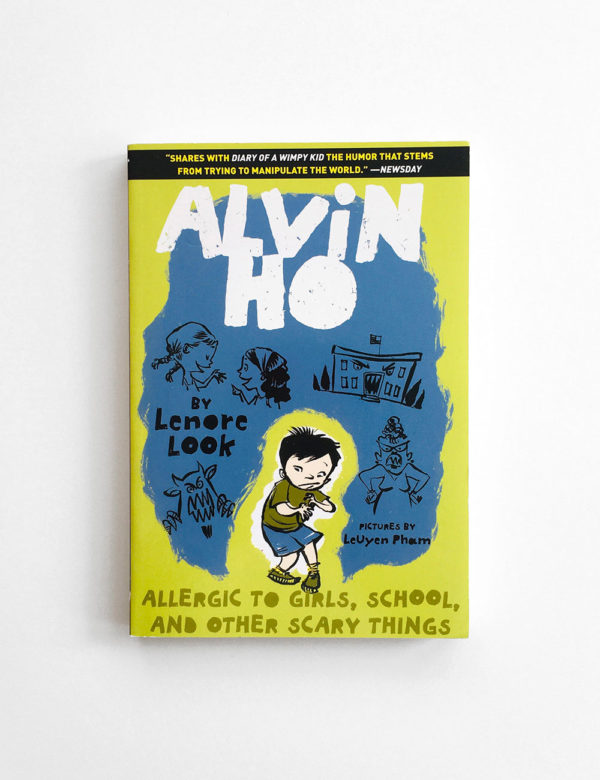 ALVIN HO: ALLERGIC TO GIRLS, SCHOOL AND OTHER SCARY THINGS