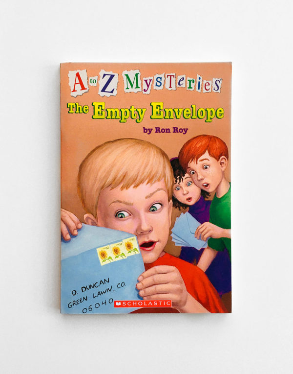 A TO Z MYSTERIES: EMPTY ENVELOPE