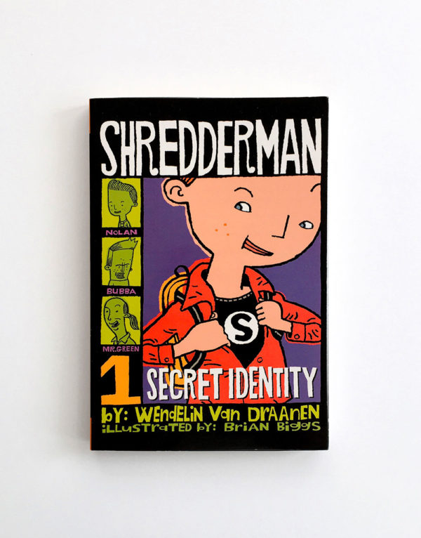 SHREDDERMAN: SECRET IDENTITY (#1)
