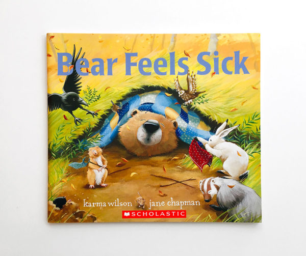 BEAR FEELS SICK (PB)