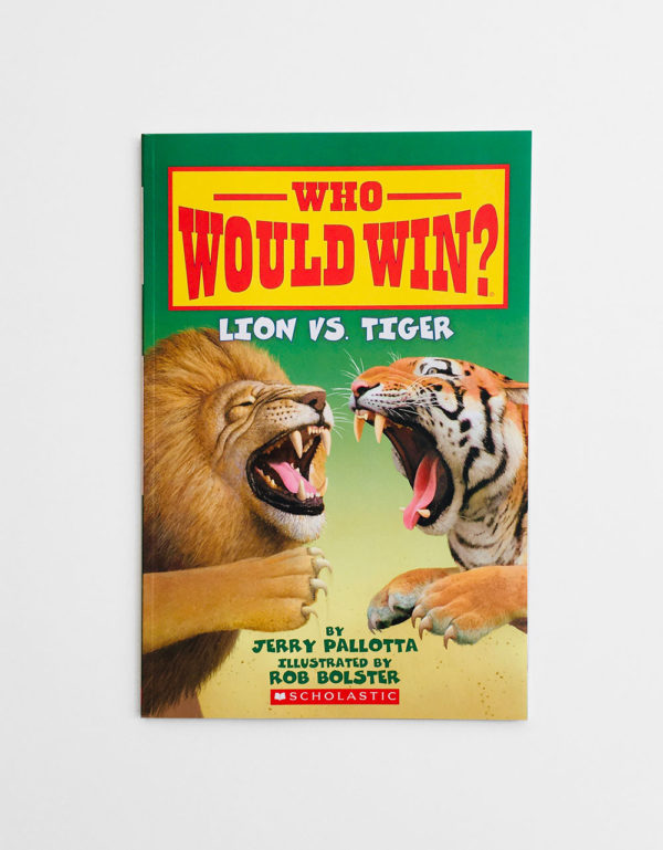 WHO WOULD WIN? LION VS TIGER