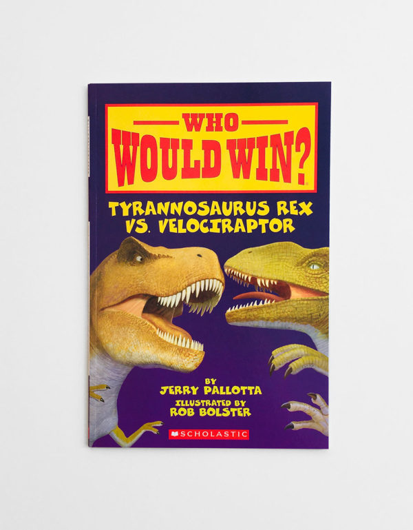 WHO WOULD WIN? TYRANNOSAURUS REX VS VELOCIRAPTOR
