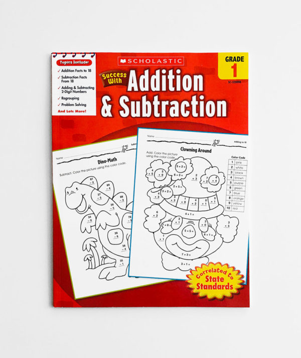 SUCCESS WITH ADDITION & SUBTRACTION (GRADE 1)