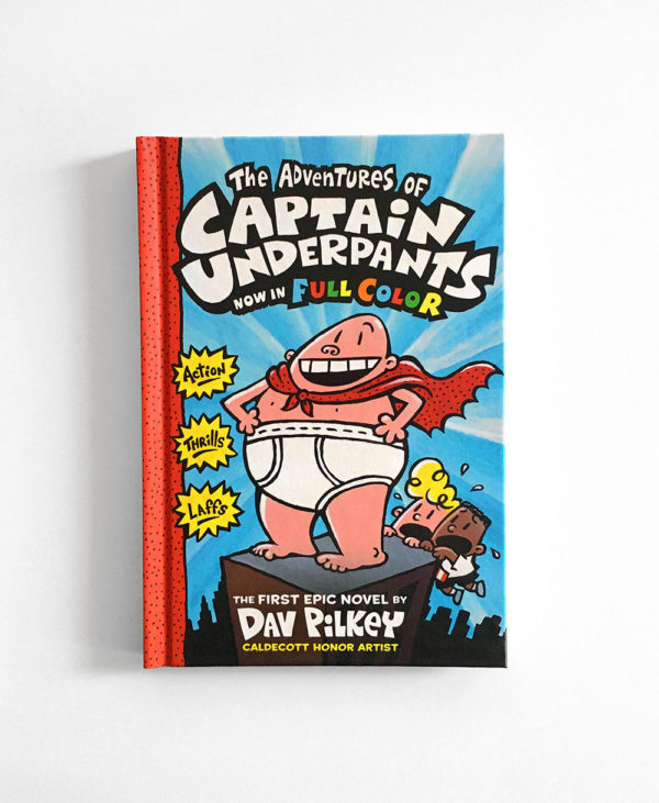 THE ADVENTURES OF CAPTAIN UNDERPANTS IN FULL COLOR (#1)