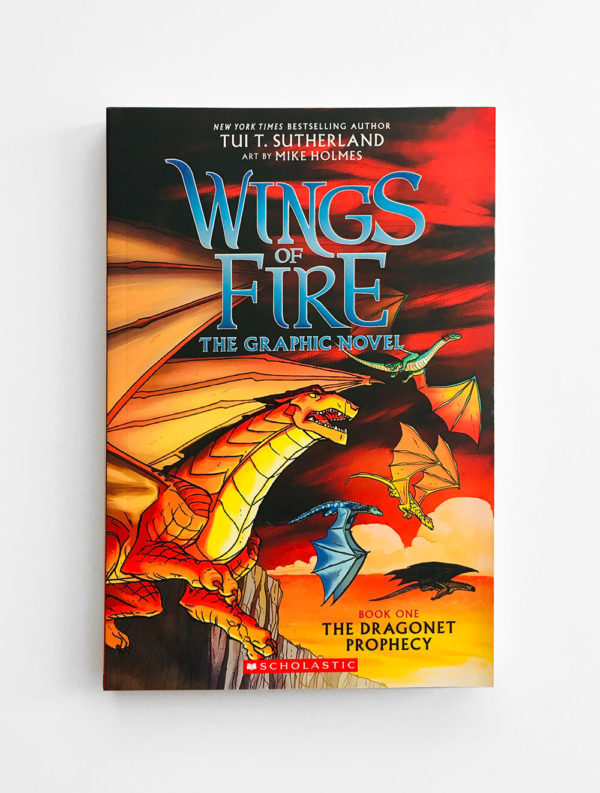 WINGS OF FIRE, THE GRAPHIC NOVEL: THE DRAGONET PROPHECY (#1)