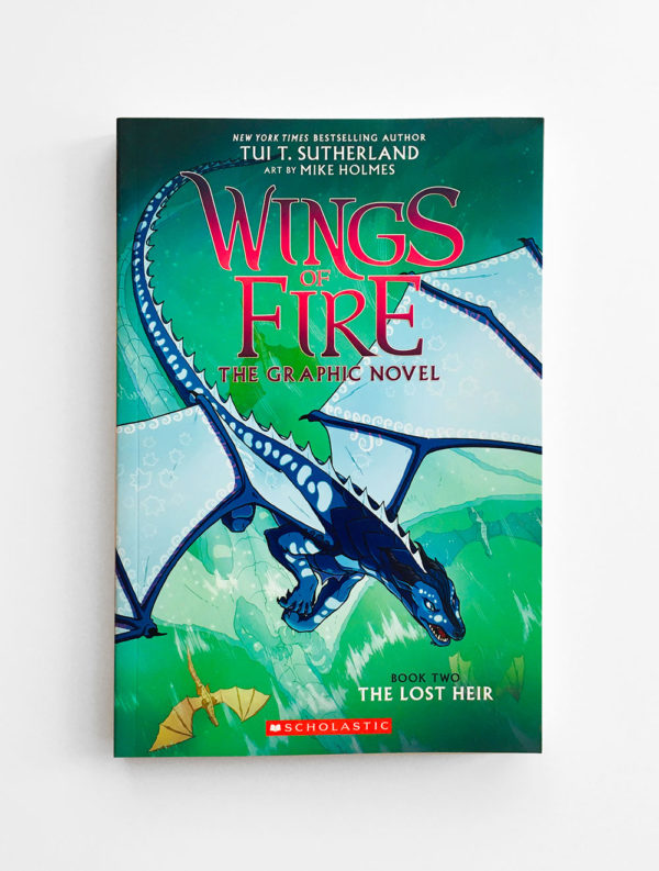 WINGS OF FIRE, THE GRAPHIC NOVEL: THE LOST HEIR (#2)