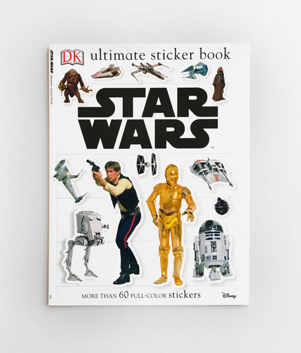 STAR WARS: ULTIMATE STICKER BOOK