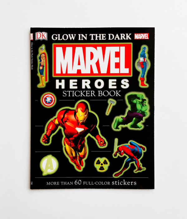 MARVEL HEROES: GLOW IN THE DARK STICKER BOOK