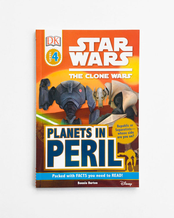 DK READERS #4: STAR WARS - PLANETS IN PERIL
