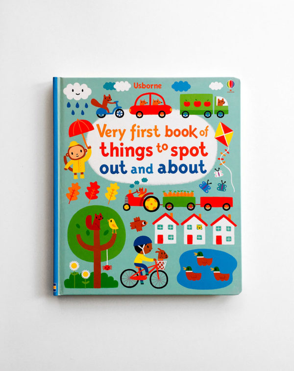 VERY FIRST BOOK OF THINGS TO SPOT OUT