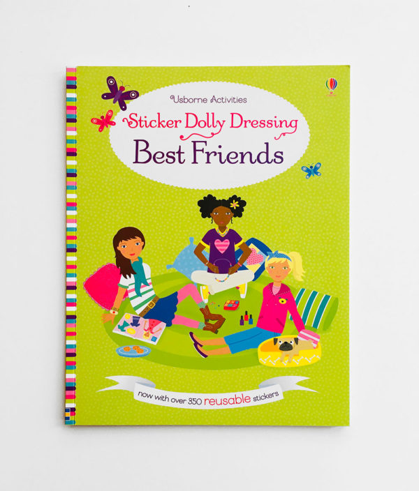 STICKER DOLLY DRESSING: BEST FRIENDS
