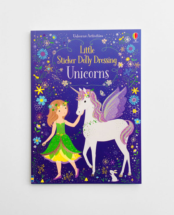 LITTLE STICKER DOLLY DRESSING: UNICORNS