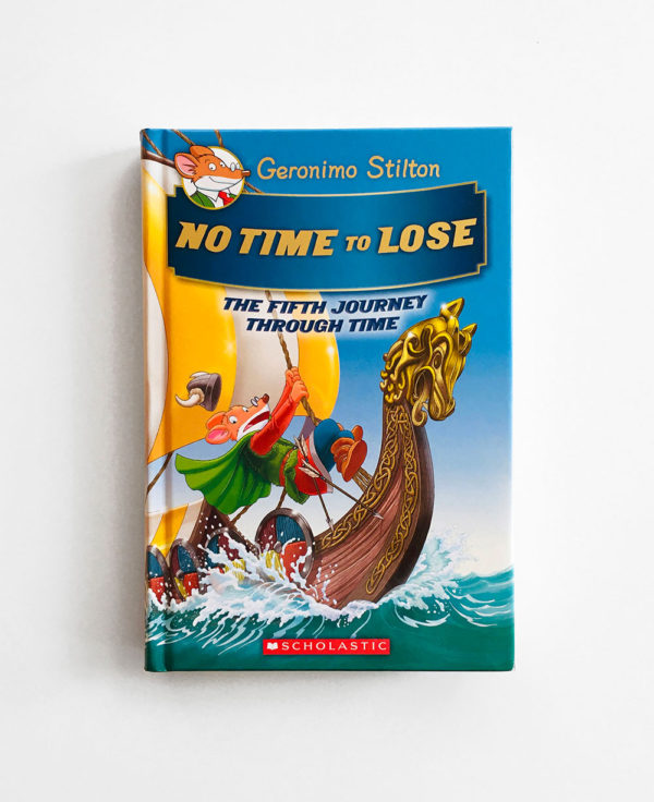 GERONIMO STILTON: JOURNEY THROUGH TIME - NO TIME TO LOSE
