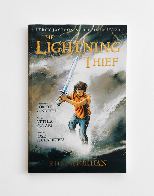 PERCY JACKSON, THE GRAPHIC NOVEL: THE LIGHTNING THIEF (#1)