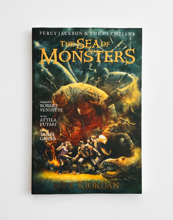 PERCY JACKSON, THE GRAPHIC NOVEL: THE SEA OF MONSTERS (#2)
