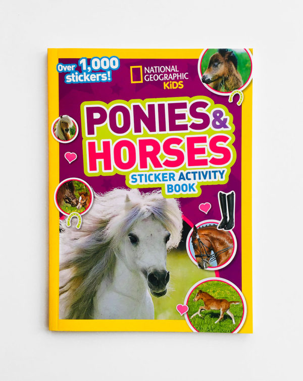 PONIES & HORSES STICKER ACTIVITY BOOK
