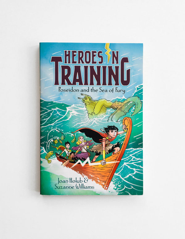 HEROES IN TRAINING: POSEIDON & THE SEA OF FURY (#2)
