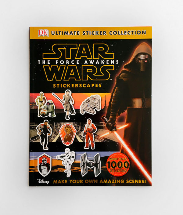 STAR WARS THE FORCE AWAKENS: STICKERSCAPES