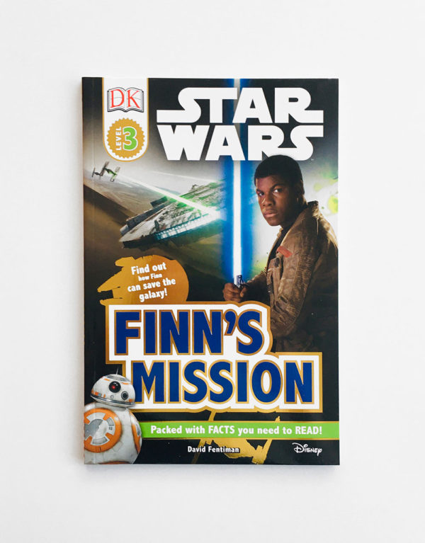 DK READERS #3: STAR WARS - FINN'S MISSION