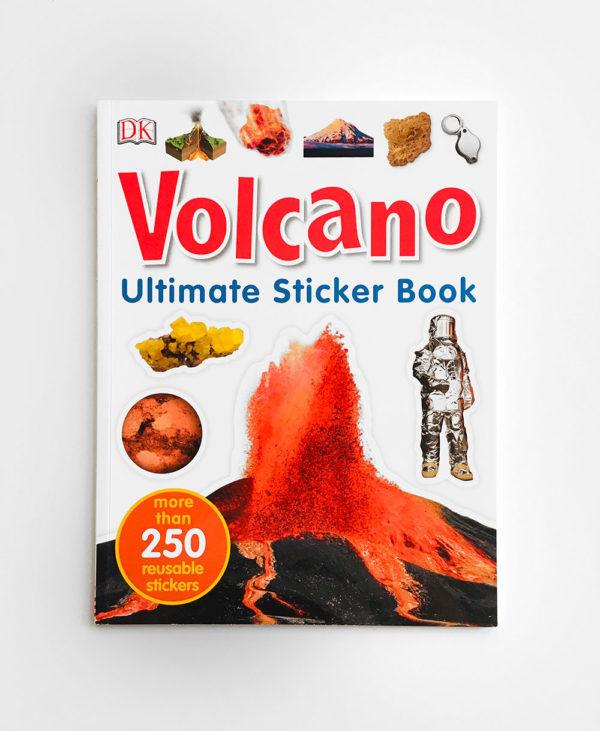 VOLCANO ULTIMATE STICKER BOOK