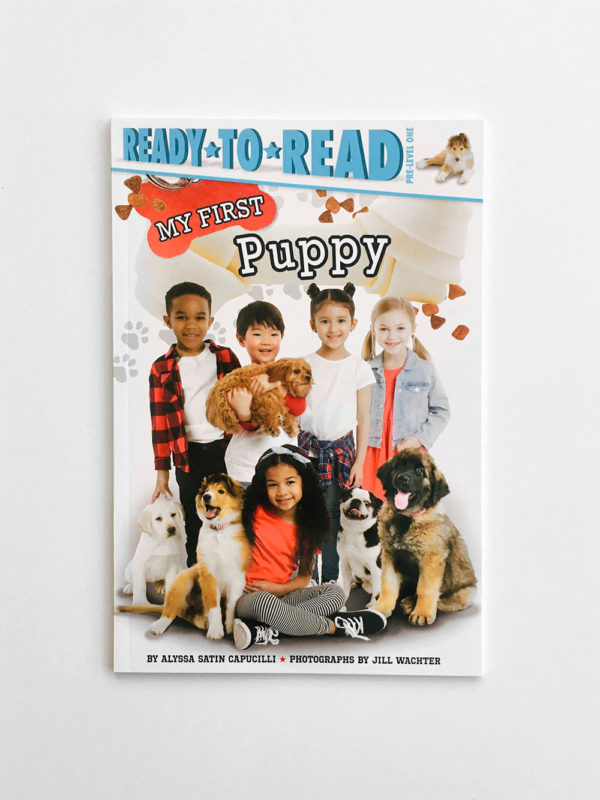 READY TO READ # PRE-1: MY FIRST PUPPY