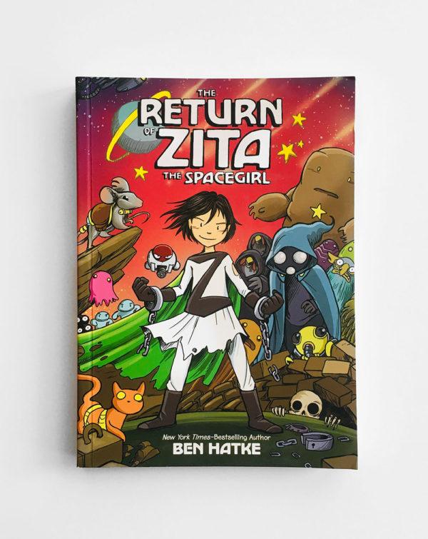 THE RETURN OF ZITA, THE SPACEGIRL