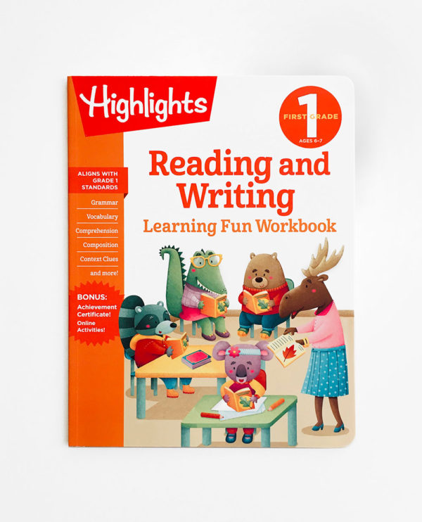 HIGHLIGHTS FIRST GRADE: READING AND WRITING