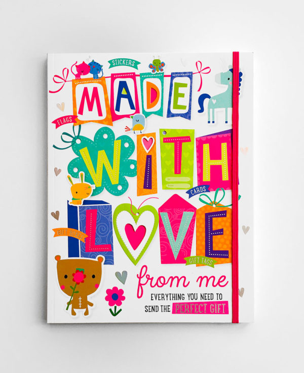 MADE WITH LOVE ACTIVITY BOOK