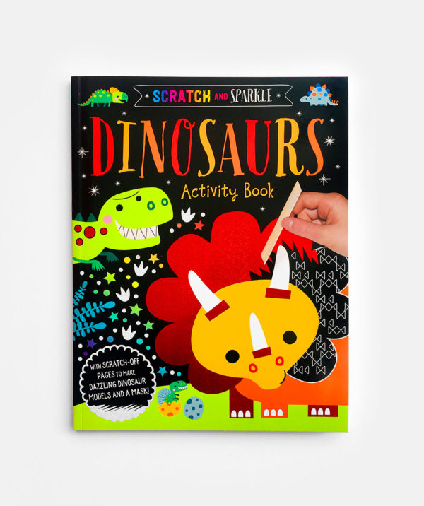 SCRATCH AND SPARKLE: DINOSAURS ACTIVITY BOOK