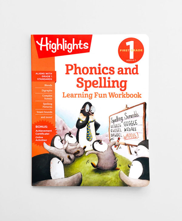 HIGHLIGHTS FIRST GRADE: PHONICS AND SPELLING