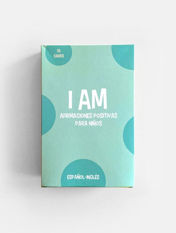 FLASHCARDS: I AM, AFIRMACIONES POSITIVAS PARA NIÑOS (25)